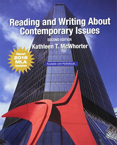 9780134678764: Reading and Writing About Contemporary Issues, MLA Update (2nd Edition)