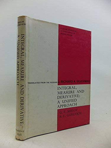 9780134689265: Integral Measure and Derivative: A Unified Approach
