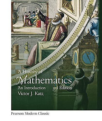 9780134689524: A History of Mathematics: An Introduction (Pearson Modern Classics)