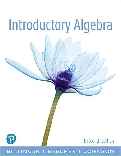 9780134689630: Introductory Algebra (13th Edition)