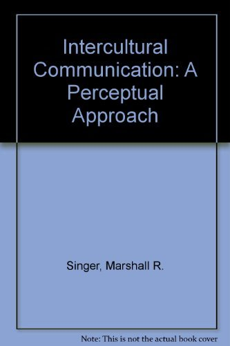 9780134691152: Intercultural Communication: A Perceptual Approach