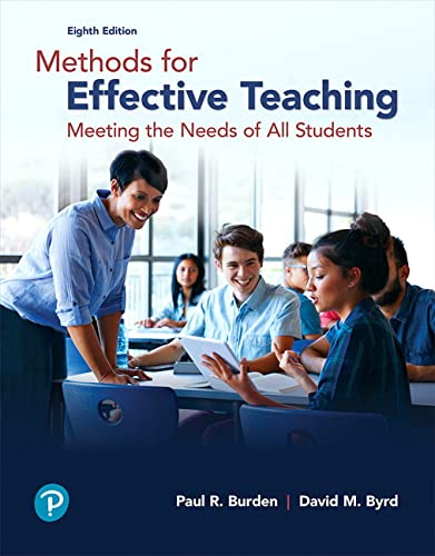 9780134695747: Methods for Effective Teaching: Meeting the Needs of All Students (8th Edition)