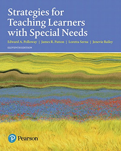 Strategies For Teaching Learners With Special Needs,: Polloway, Edward A.;