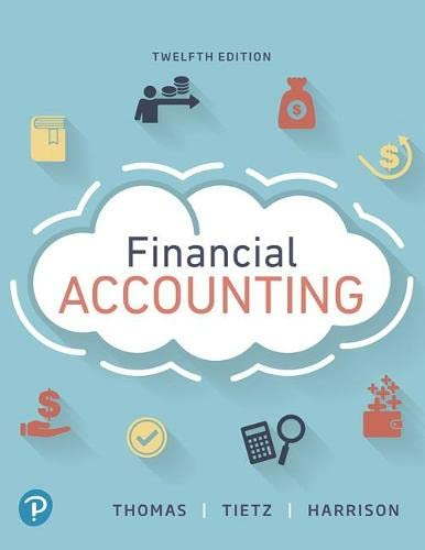 9780134725987: Financial Accounting (12th Edition) (What's New in Accounting)