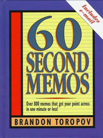 9780134726304: 60 Second Memos
