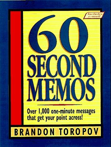 9780134726489: 60 Second Memos
