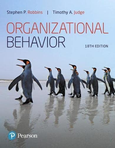 9780134729329: Organizational Behavior