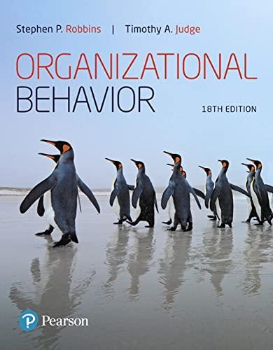 9780134729329: Organizational Behavior (What's New in Management)