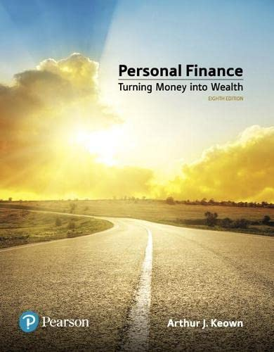 9780134730363: Personal Finance (What's New in Finance)