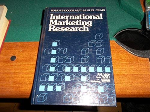 9780134731322: International Marketing Research (PH/AMA series in marketing)