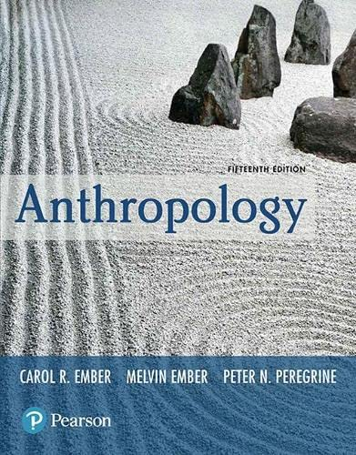 9780134732879: Anthropology