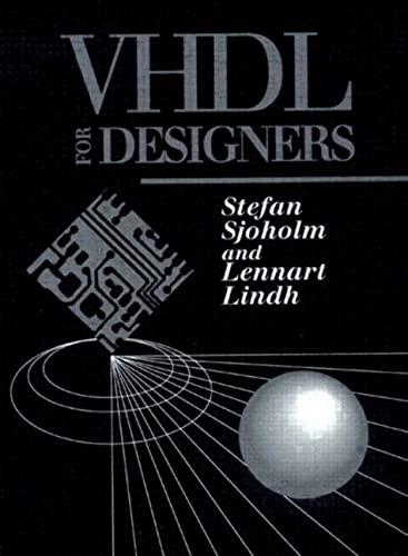 9780134734149: VHDL for Designers
