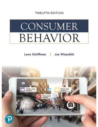 Consumer Behavior, 12Th Edition: Leon G. Schiffman