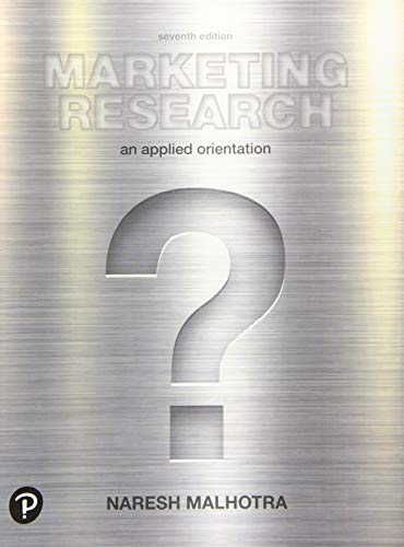 9780134734842: Marketing Research: An Applied Orientation