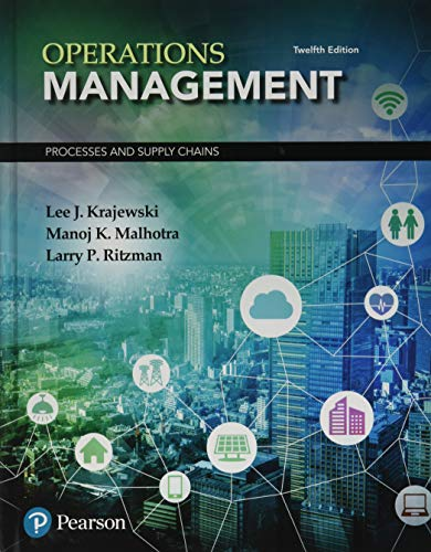 9780134741062: Operations Management: Processes and Supply Chains (12th Edition) (What's New in Operations Management)