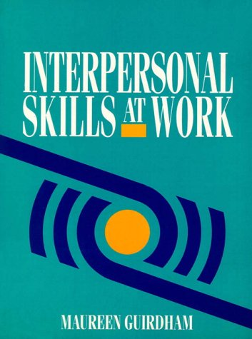 9780134742977: Interpersonal Skills at Work (NATFHE journal)