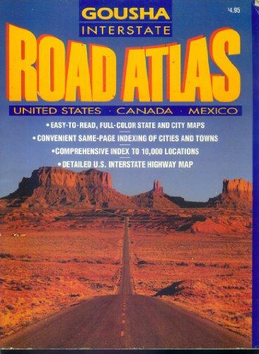 9780134746289: Interstate Atlas U.S.A. 1993 (Gousha Road Atlases)
