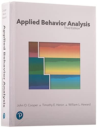 9780134752556: Applied Behavior Analysis