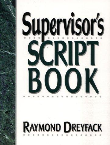 Supervisor's Script Book: Dreyfack, Raymond