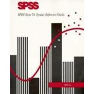 9780134763262: SPSS Base 7.0 Syntax Reference Guide