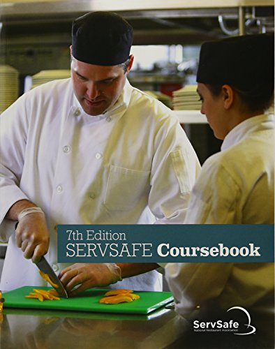 9780134764214: ServSafe CourseBook with Answer Sheet (7th Edition)