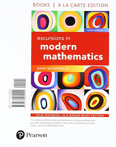 Excursions in Modern Mathematics, Books a la