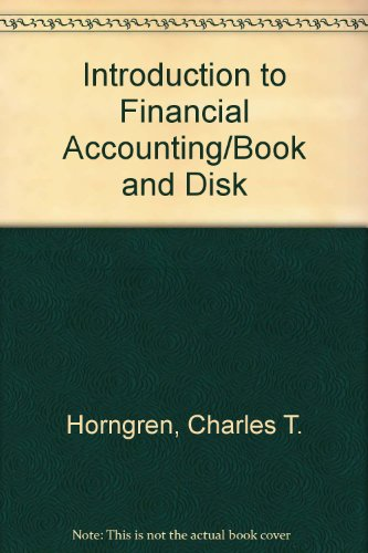 9780134769462: Introduction to Financial Accounting