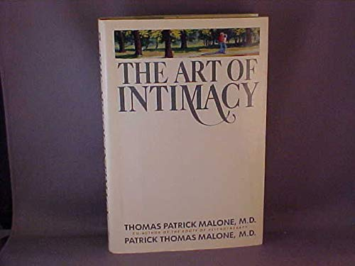 9780134770017: The Art of Intimacy