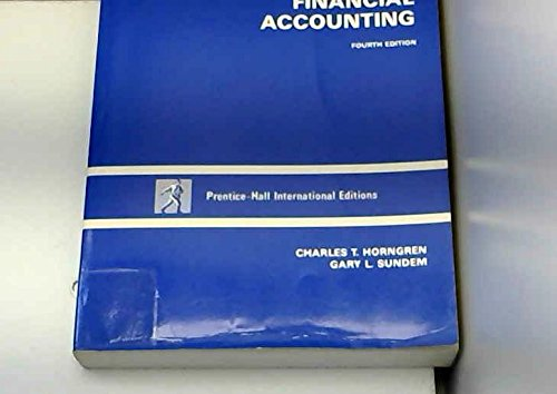 9780134774725: Introduction to Financial Accounting