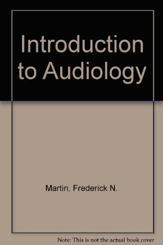 9780134776057: Introduction to Audiology (4th Edition)