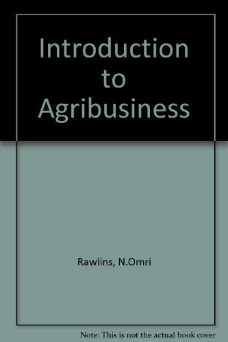 Introduction to Agribusiness: Nolan Omri Rawlins