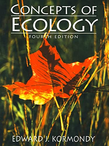 9780134781167: Concepts of Ecology (4th Edition)