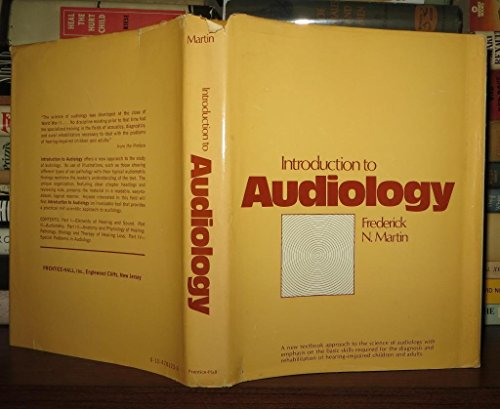 9780134781235: Introduction to Audiology