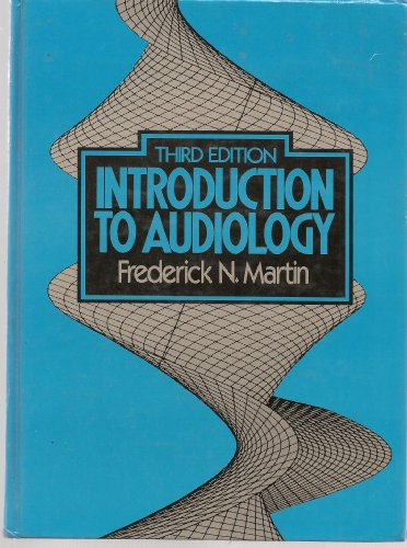 9780134781730: Introduction to Audiology
