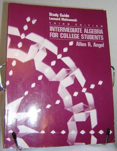 9780134787695: Intermediate Algebra CL ST S/G