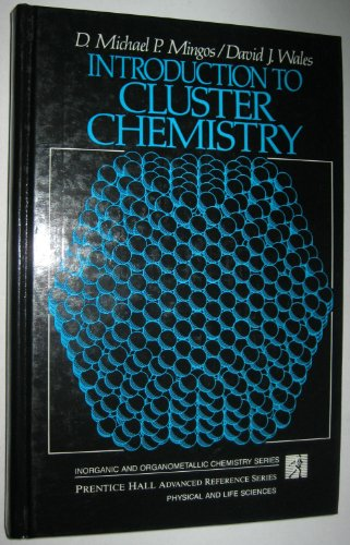 9780134790497: Introduction to Cluster Chemistry (Prentice Hall Inorganic and Organometallic Chemistry Series)