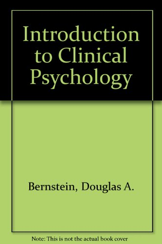 9780134794112: Introduction to Clinical Psychology