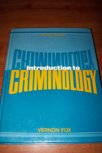 9780134799407: Introduction To Criminology (2nd Edition)