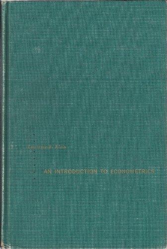 9780134799643: An Introduction to Econometrics
