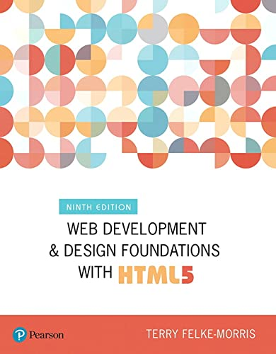 9780134801148: Web Development and Design Foundations with HTML5 (What's New in Computer Science)