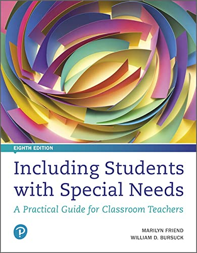 9780134801674: Including Students with Special Needs: A Practical Guide for Classroom Teachers (8th Edition)