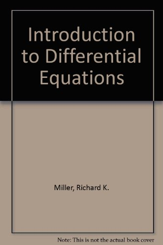 9780134809632: Introduction to Differential Equations