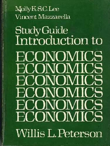 9780134812670: Introduction to economics: Study guide