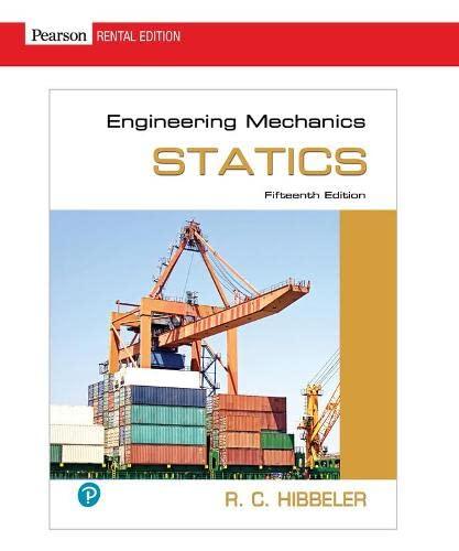 9780134814971: Engineering Mechanics: Statics