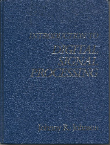 9780134815817: Introduction to Digital Signal Processing