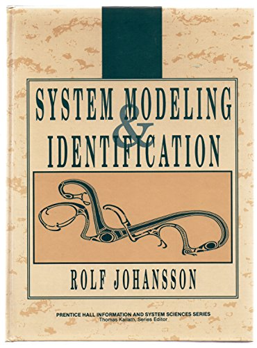 9780134823089: Modelling and System Identification (Prentice Hall Information and System Sciences Series)