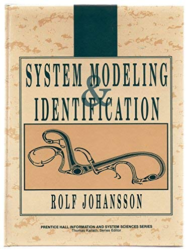 9780134823089: System Modeling and Identification (Prentice Hall Information and System Sciences Series)