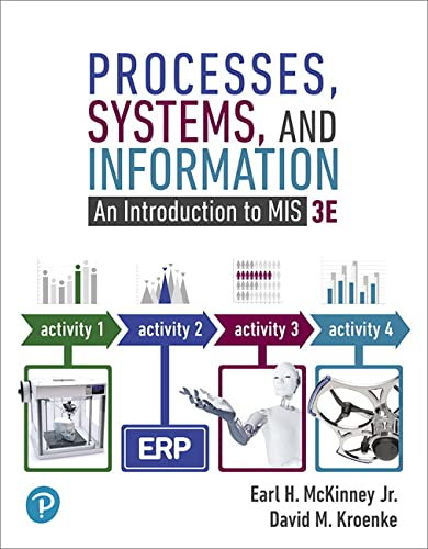 9780134827001: Processes, Systems, and Information: An Introduction to MIS (3rd Edition)