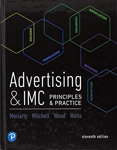 Advertising & IMC Principles and Practice Marketing