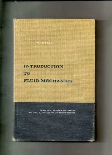 9780134839097: Introduction to Fluid Mechanics
